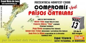 Tarja presentacio manifest compromis pels països catalans2